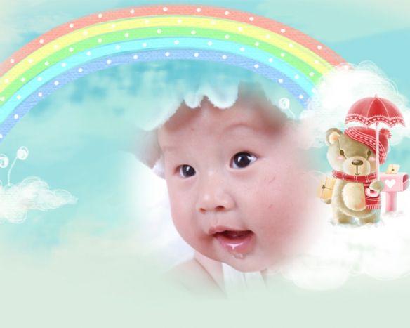 搞怪有趣的可爱宝宝 卖萌无罪