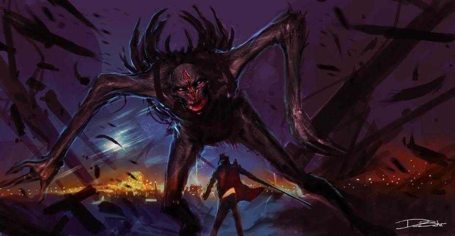 《鬼泣5》游戏截图-3