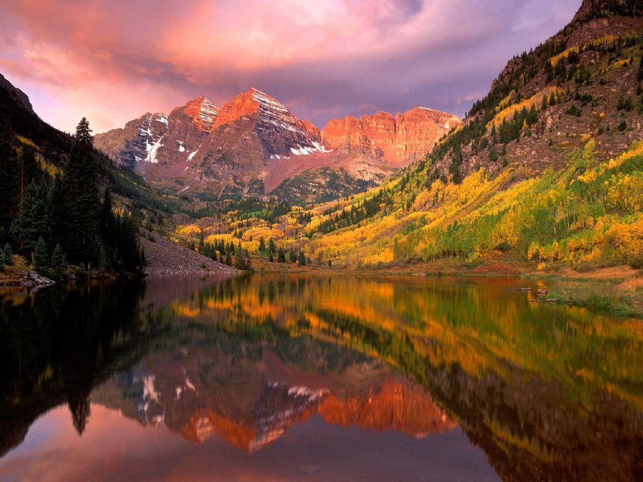 自然风景美图 高清宽屏桌面壁纸图片(23)