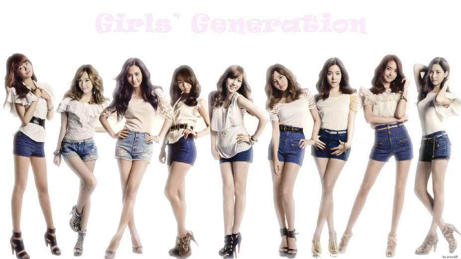 韩国青春组合少女时代时尚写真图集图片