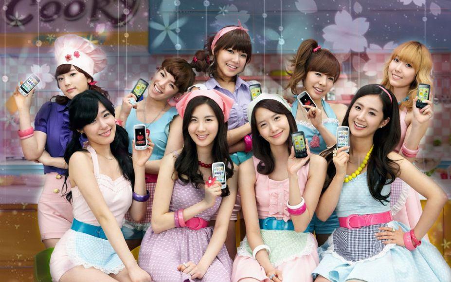 韩国青春组合\少女时代\时尚写真图集