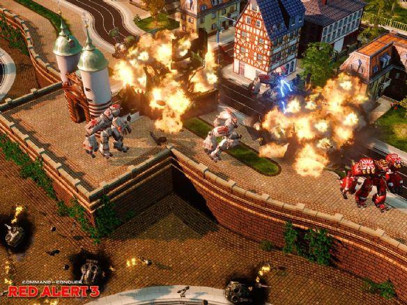 《命令与征服之红色警戒3》游戏截图6