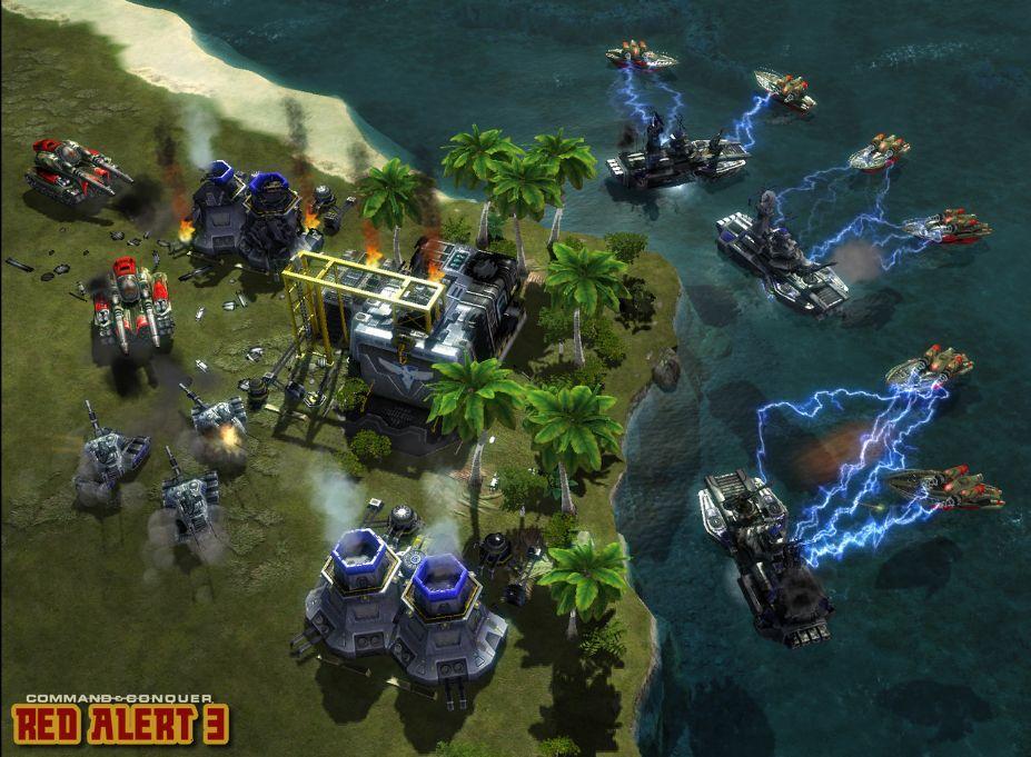 《命令与征服之红色警戒3》游戏截图5(2)