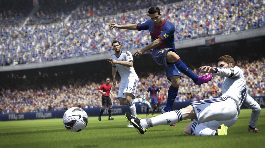 《FIFA 14》游戏截图-2