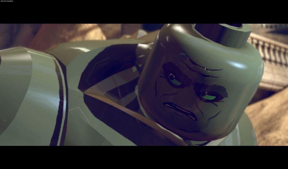 《乐高漫威超级英雄》游戏截图-1