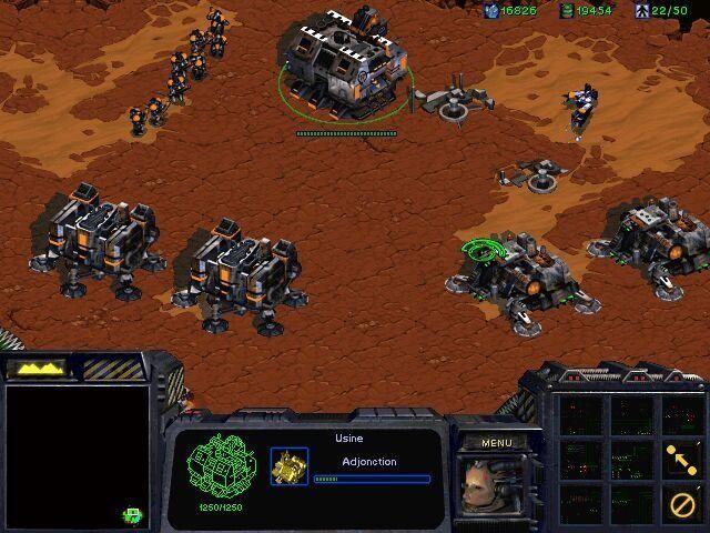 《星際爭霸》游戲截圖-4