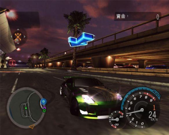 《极品飞车8:地下狂飙2》游戏截图
