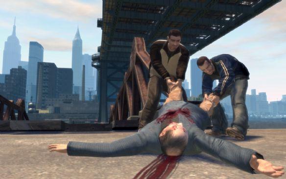 《侠盗猎车手4》游戏截图-14