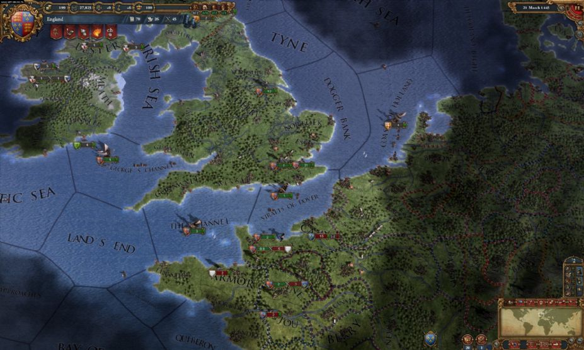 《欧陆风云4》游戏截图-4