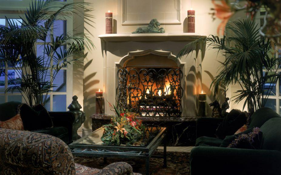 时尚简约家居写真 西式家庭壁炉高清壁纸图片 2 游侠图库