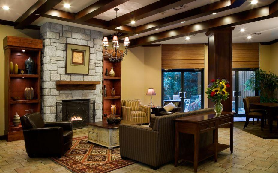 2012复古居家客厅装修效果图
