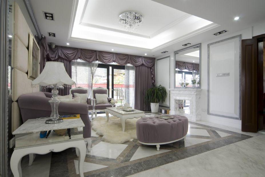 欧式风格设计 梦幻白色欧式豪宅壁纸(3)
