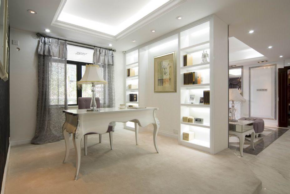 欧式风格设计 梦幻白色欧式豪宅壁纸(13)