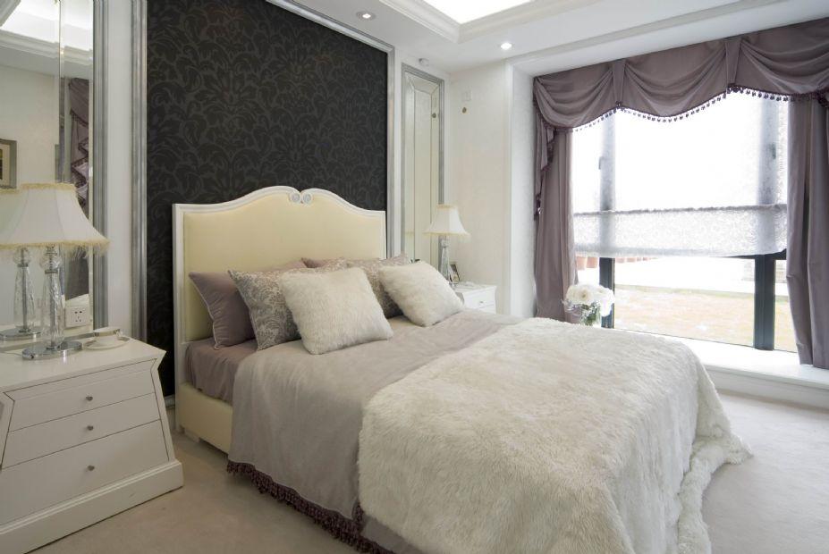 欧式风格设计 梦幻白色欧式豪宅壁纸