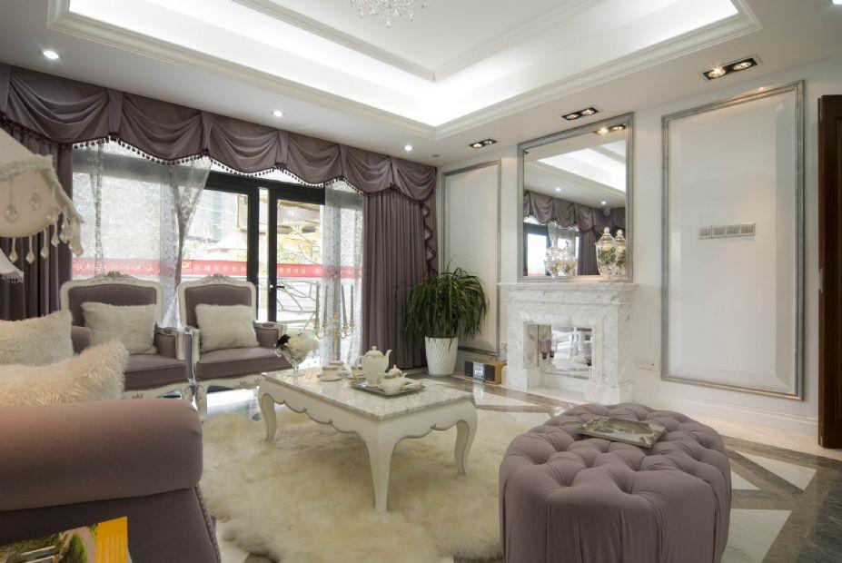 欧式风格设计 梦幻白色欧式豪宅壁纸(5)