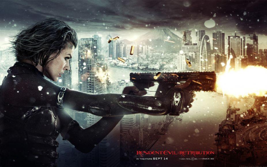 游戲改編電影《生化危機5:懲罰》電腦桌面壁紙(3)