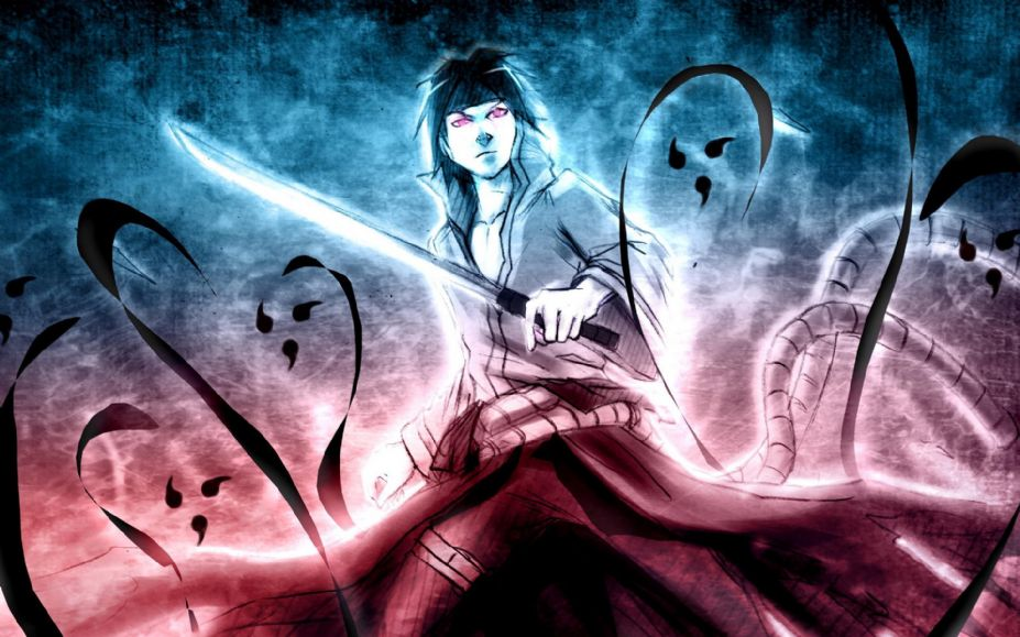 《火影忍者》宇智波佐助动漫角色高清壁纸