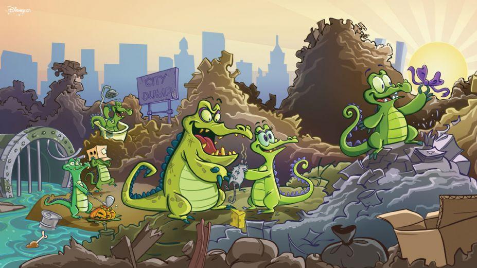 《鳄鱼小顽皮爱洗澡》游戏桌面壁纸 (5)