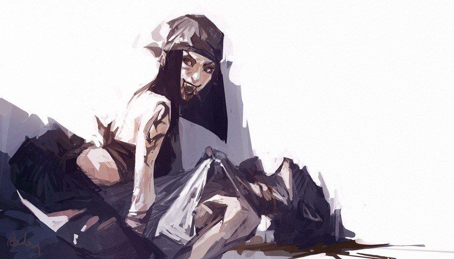 ��.�yd��:lo_《生化奇兵3:无限》概念设计师benlo同人精选集