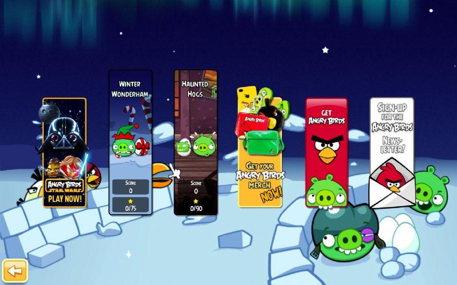 《愤怒的小鸟:2013季节版》游戏截图