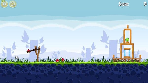 《憤怒的小鳥》截圖