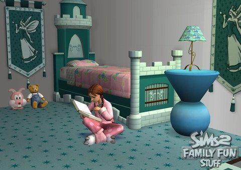 《模拟人生2:家庭娱乐》游戏截图