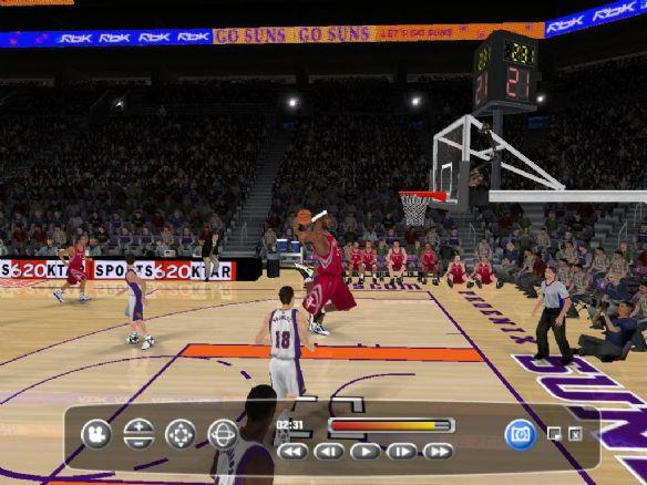 《NBA2008》截图