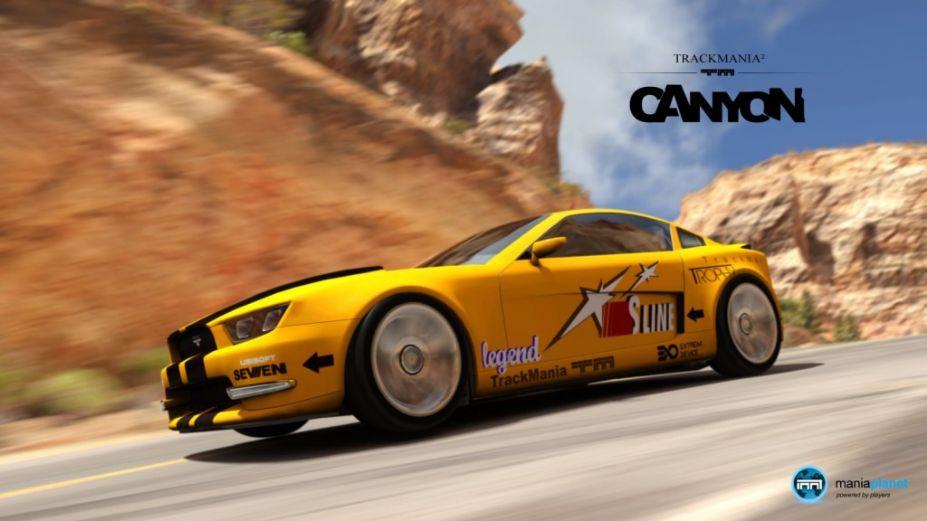 赛道狂飙2(TrackMania 2)下载_赛道狂飙2:峡谷 简体中文完整硬盘版截图