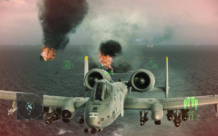 《皇牌空战7:突击地平线》截图