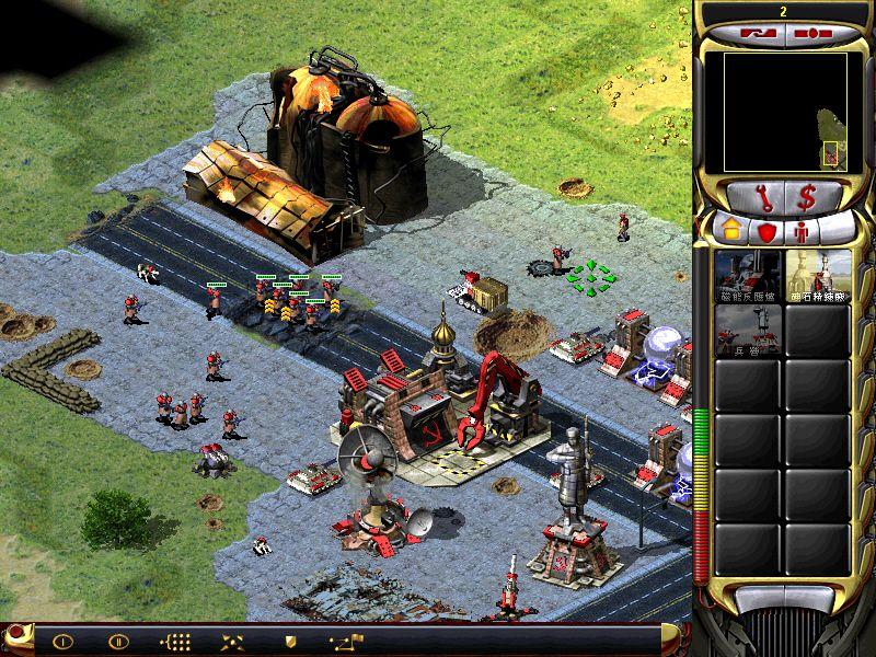 《红色警戒2共和国之辉》游戏截图