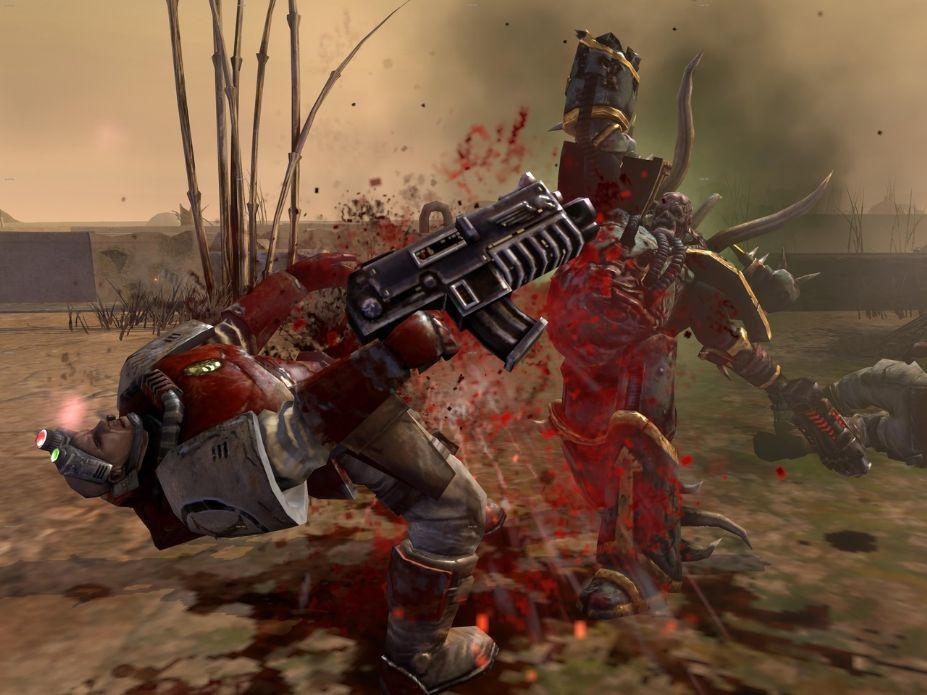 《战锤40K:战争黎明2-混沌崛起》中文版截图