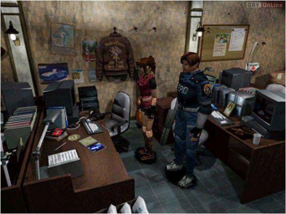 《生化危机2》游戏截图