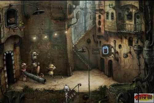 《机械迷城》中文版截图