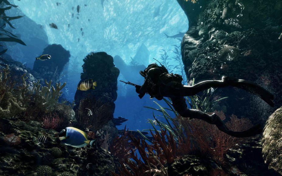 壁纸 海底 海底世界 海洋馆 水族馆 桌面 927_579