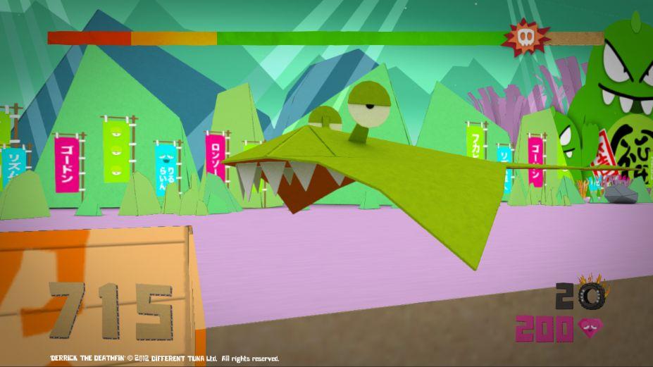 《折纸鲨鱼》游戏截图(2)