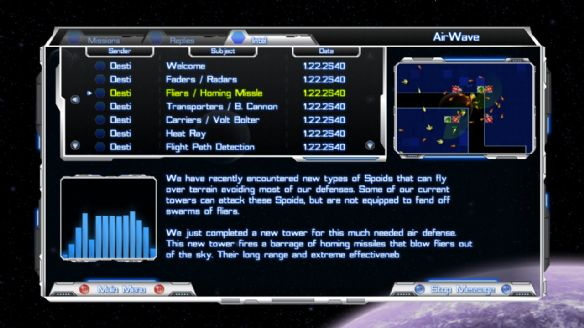 《太空防卫战》游戏截图
