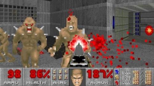 毁灭战士2游戏图片欣赏