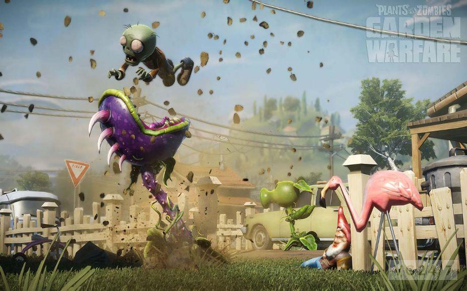 《植物大战僵尸:花园战争》游戏截图-1