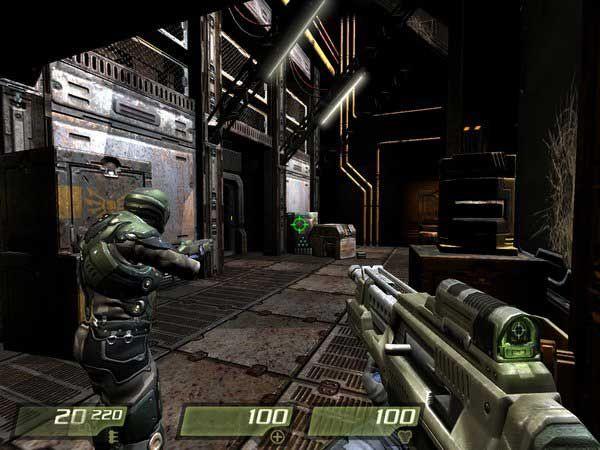 《雷神之锤4》游戏截图