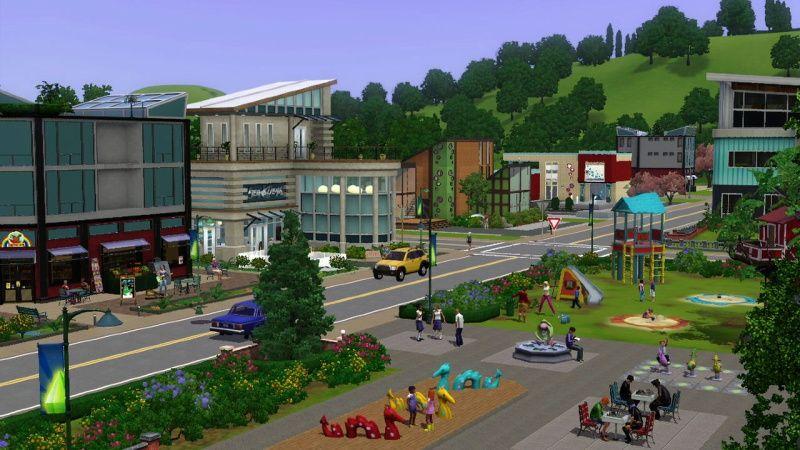 模拟人生3:城镇生活(1)