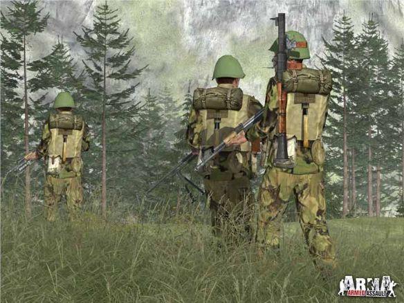 《武装突袭》游戏截图