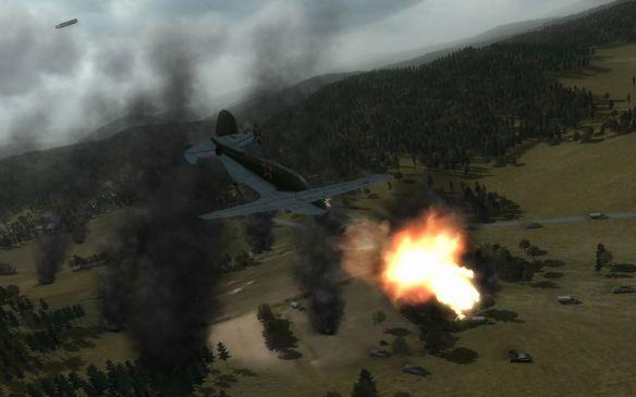 《空中冲突:秘密战争》游戏截图