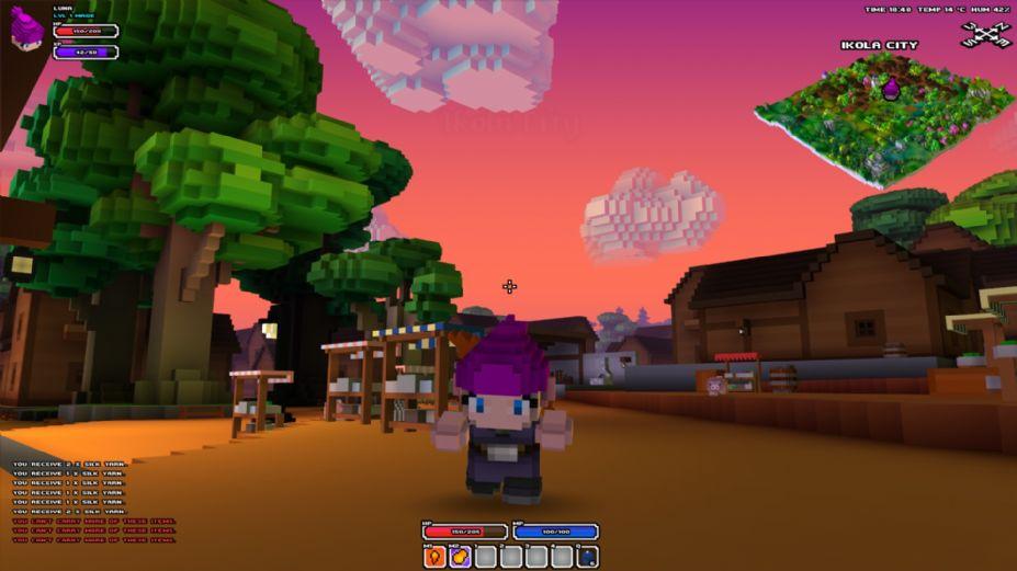 《立方體世界》游戲截圖