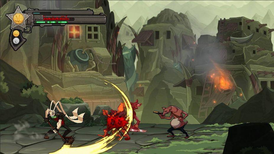 《达斯蒂复仇》游戏截图