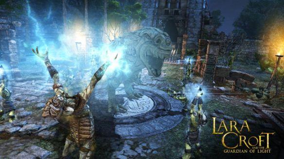 《劳拉与光之守护者》游戏截图