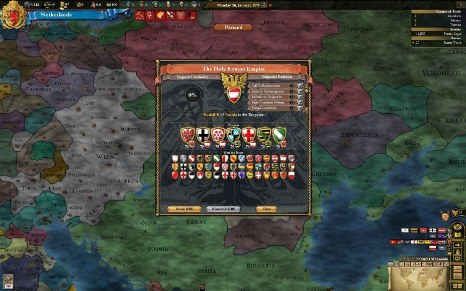 欧陆风云3 神风 游戏截图 高清图片