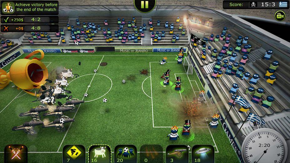 《搞笑足球2013:坑爹聯賽》游戲截圖