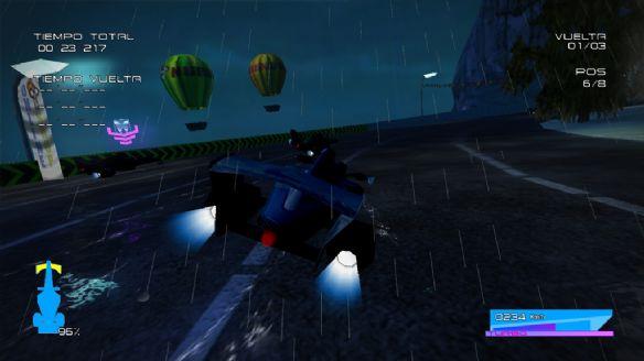 《未来飞行比赛》游戏截图