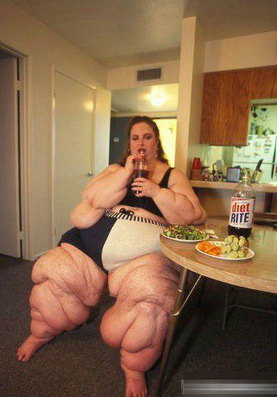 世界上最肥胖的女人