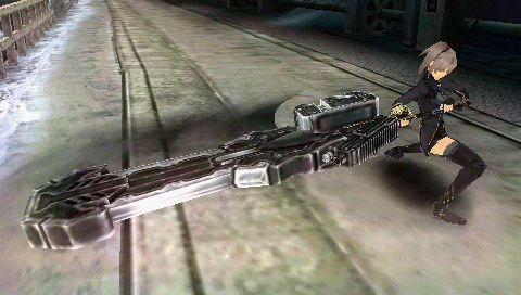 《噬神者2》PSP版游戏截图